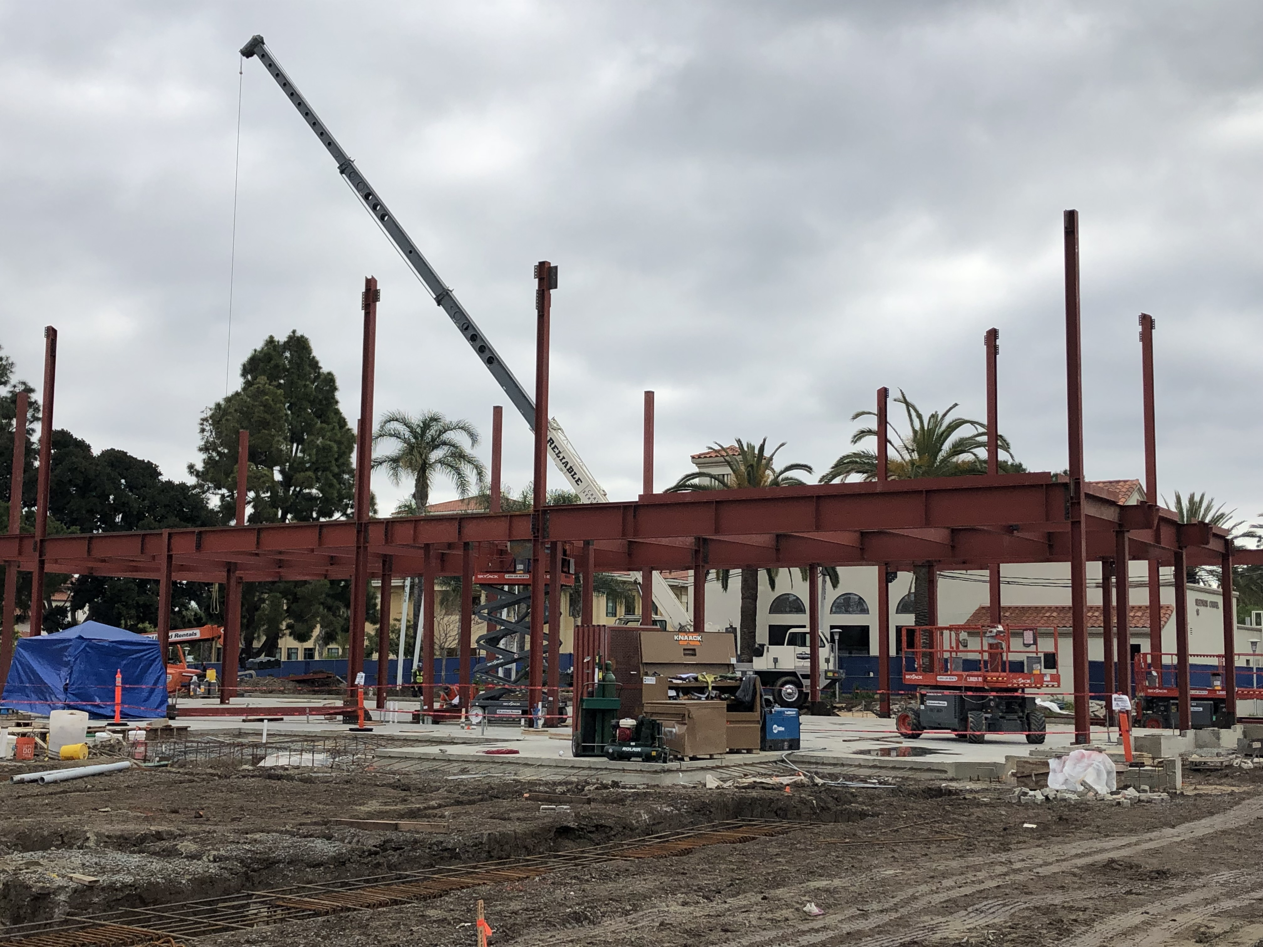 Steel Goes In the Ground