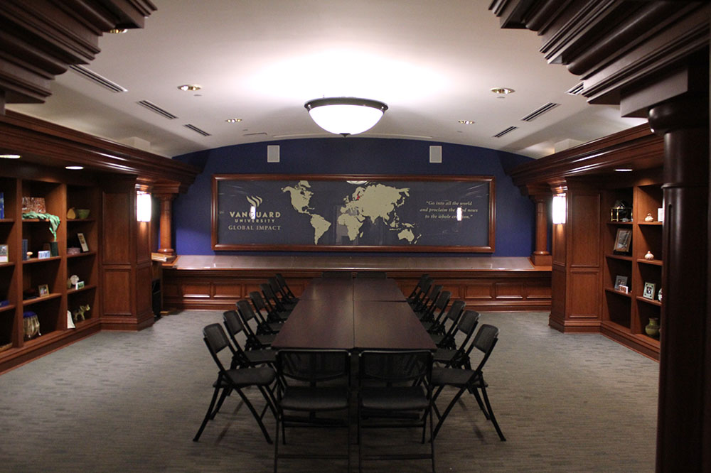 Great Commission Hall Board Room Style