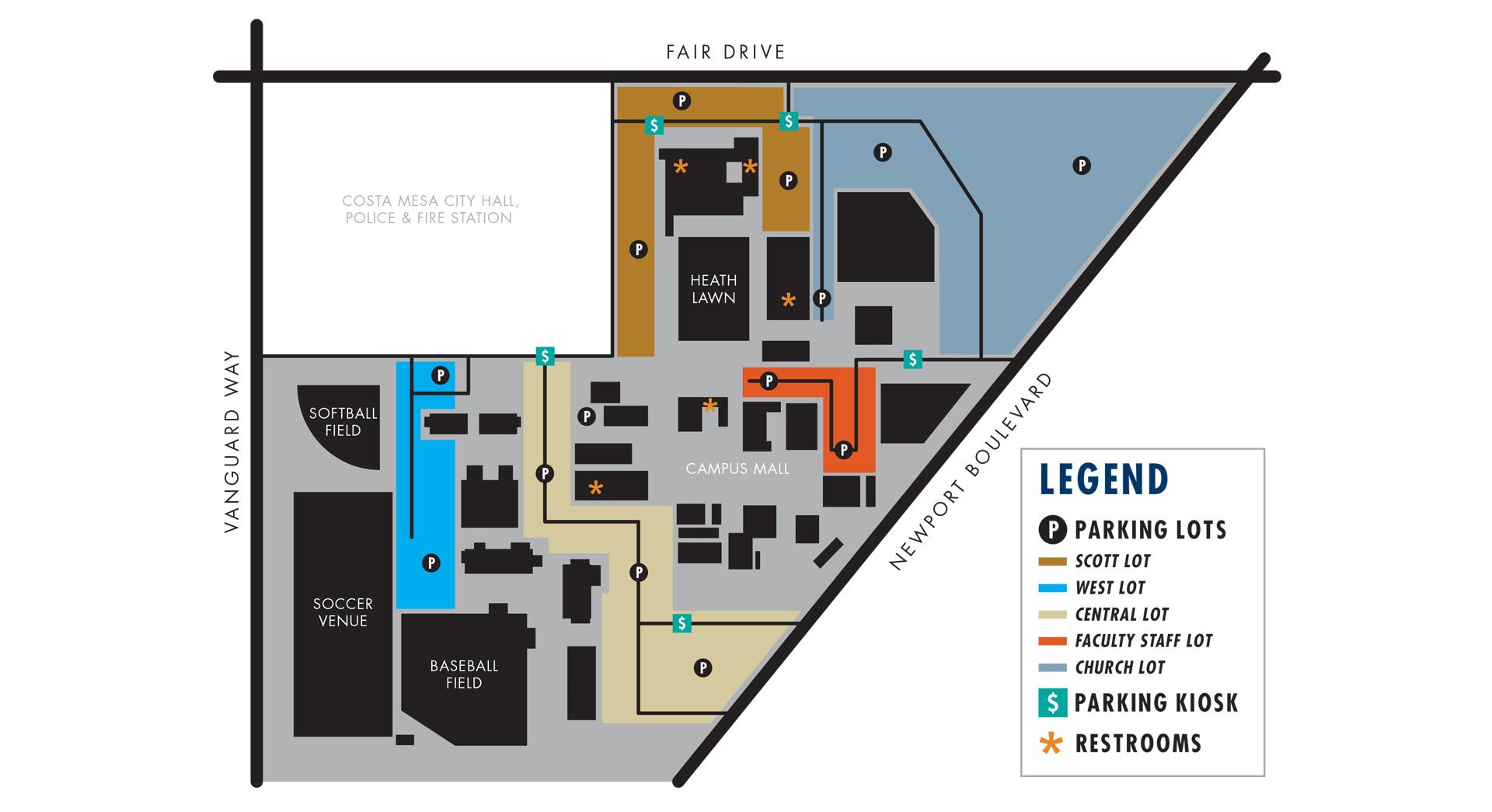 Campus Map Vanguard University