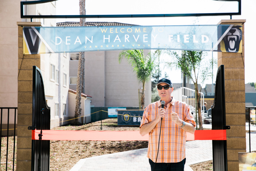 OC Register: Vanguard Celebrates Debut of Renovated Baseball Field