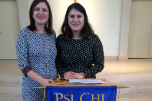 Psi Chi Induction