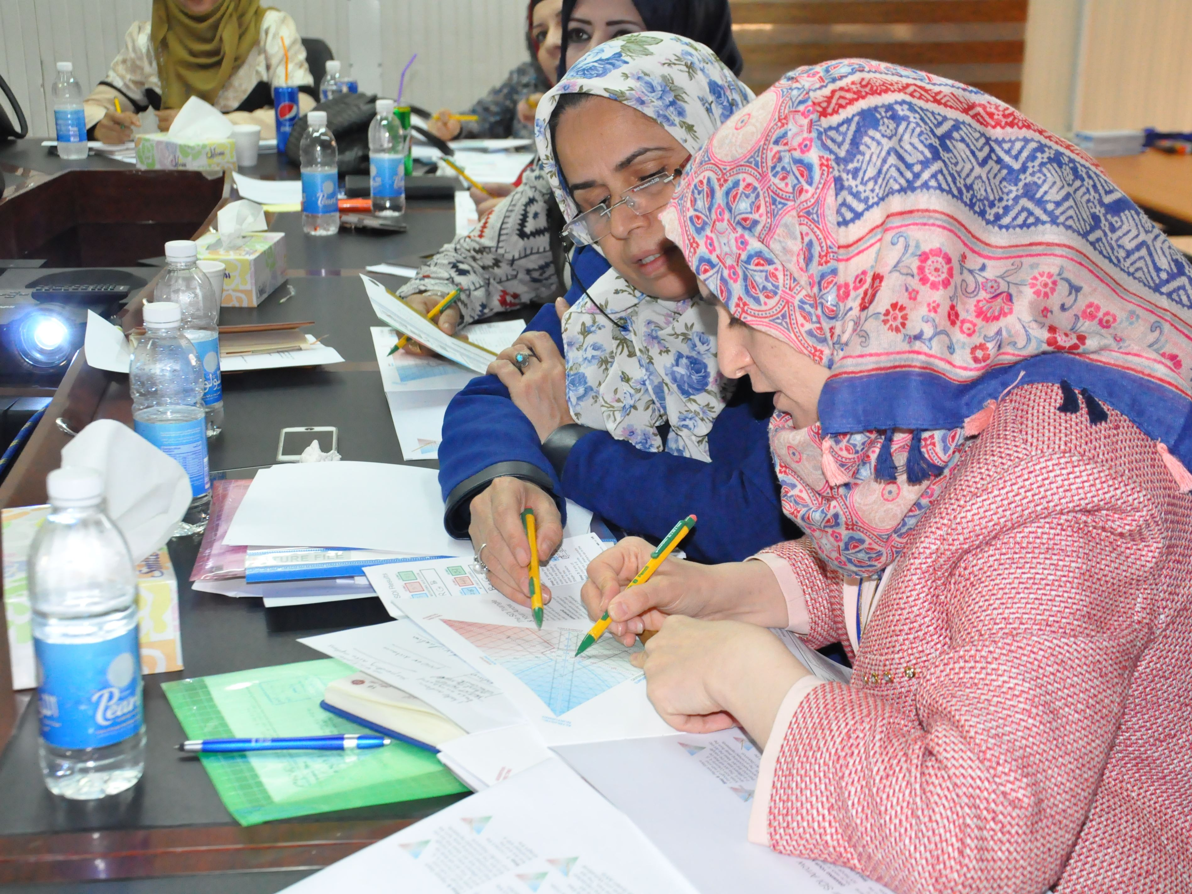 Sandie and Women in Leadership Training in Baghdad