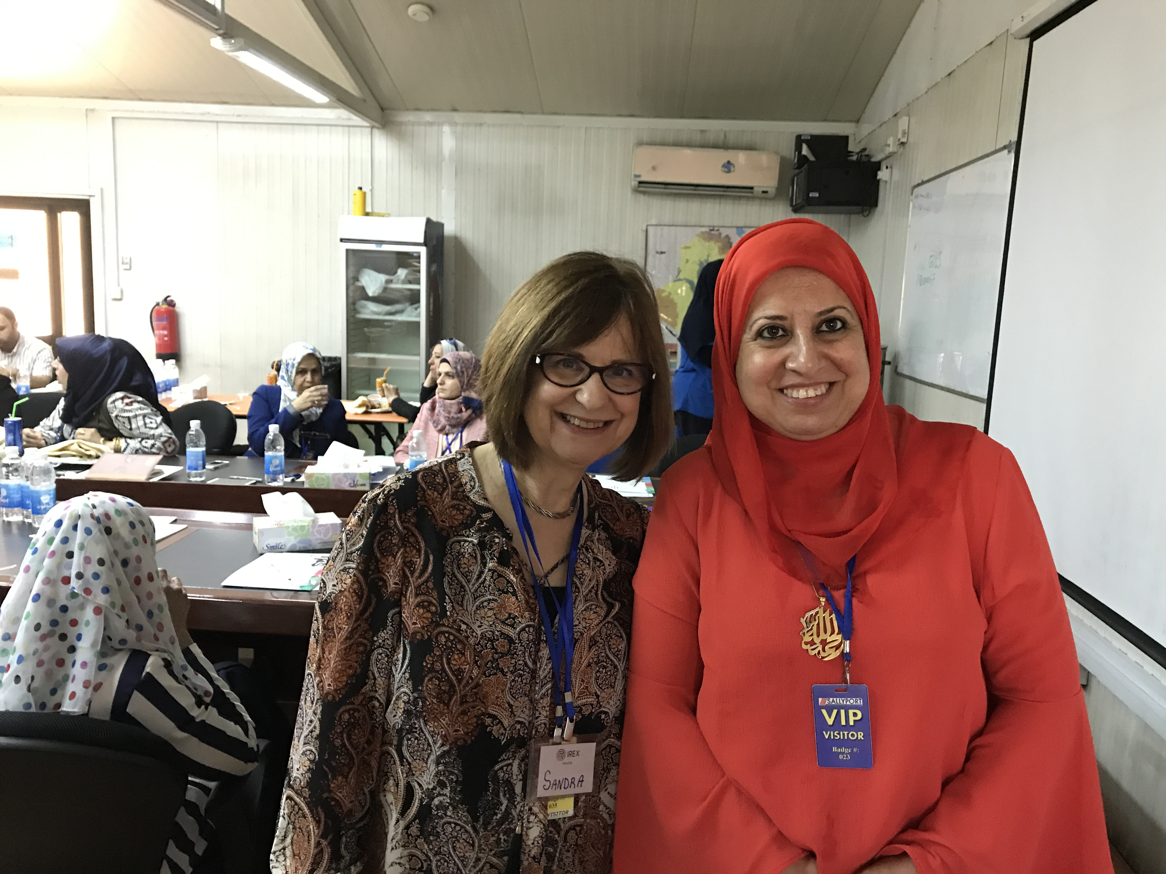 Leader of Vanguard center goes to Baghdad to help make women university leaders in Iraq